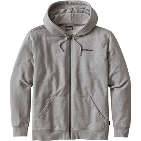 Patagonia P-6 Logo MW Suéter con capucha Hombre, feather grey